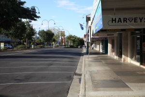 Main Street After 12 pm